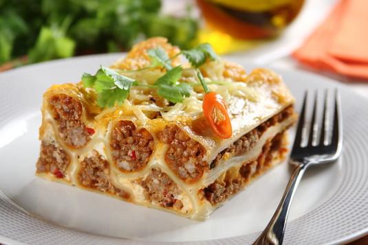 Cannelloni bolognese z meksykańską nutą