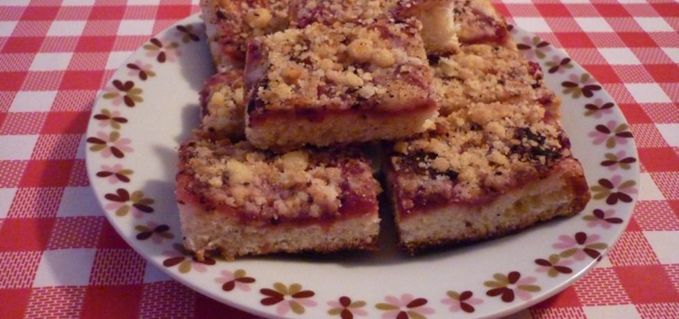 Ciasto drożdżowe z dżemem i kruszonką (autor: ikrakowianka ...