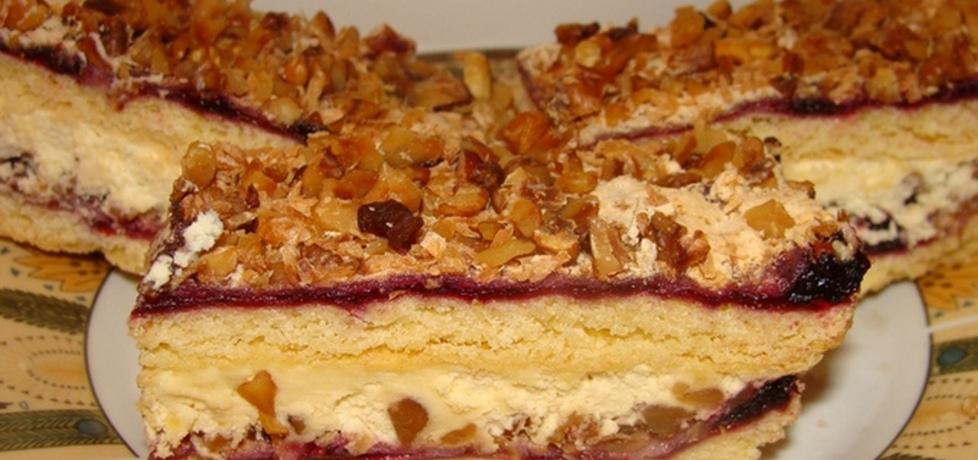 Ciasto z orzechami i kremem karpatkowym (autor: paulina2157 ...