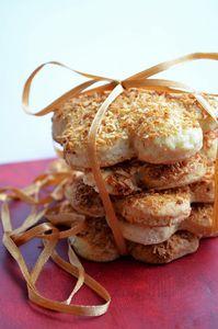 Ciasteczka z wiórkami kokosowymi