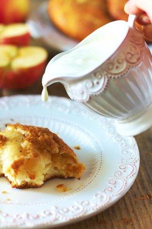 Drożdżówki z jabłkami  prosty przepis i składniki