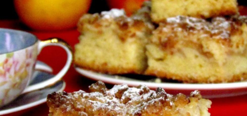 Ciasto z jabłkami i kokosową kruszonką (autor: rosik93 ...