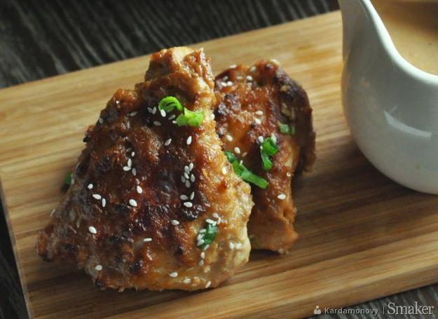 Udka z kurczaka w maśle orzechowym