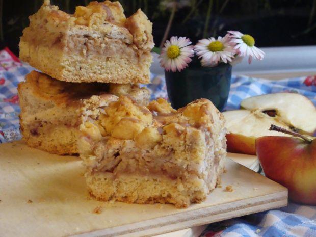Smaczny przepis na: kruche ciasto z jabłkami . gotujmy.pl