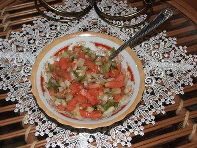Sezonowa sałatka obiadowa