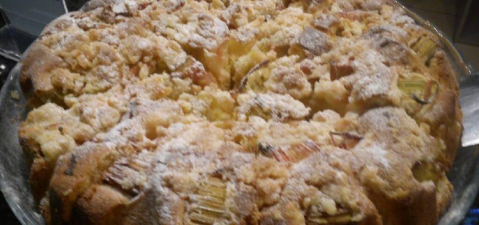 Proste ciasto z rabarbarem (autor: wieslawa1)