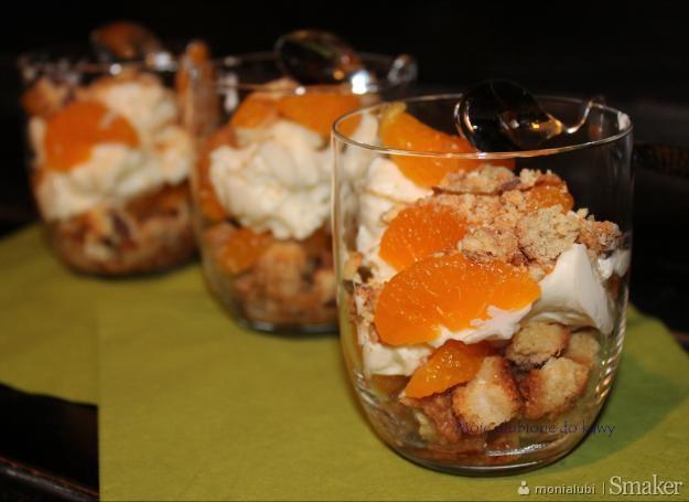 Tiramisu z mandarynkami i miodem