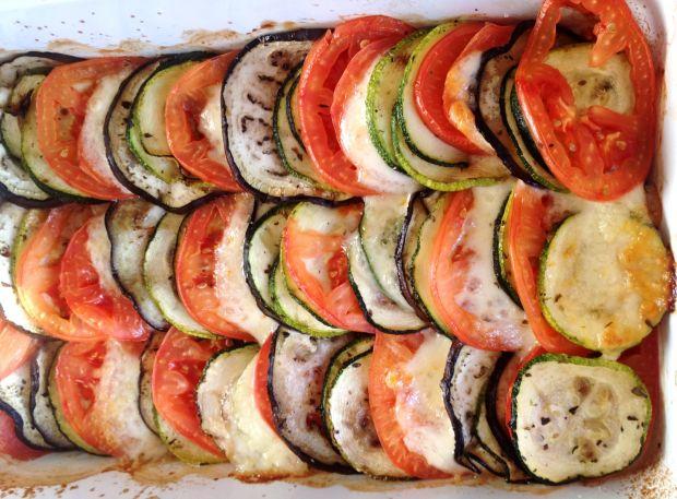 Przepis  warzywna zapiekanka we włoskim stylu przepis