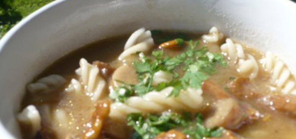 Zupa kurkowa z makaronem (autor: jolajka)