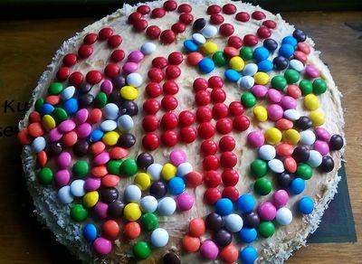 Cukierkowy tort miętowo