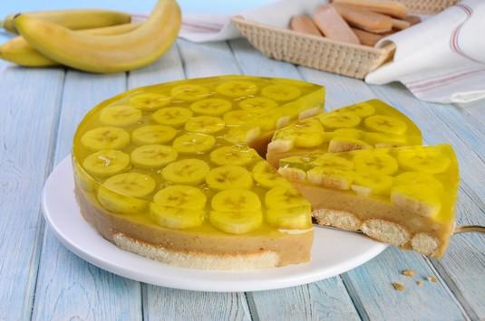 Lekki deser bananowy  video
