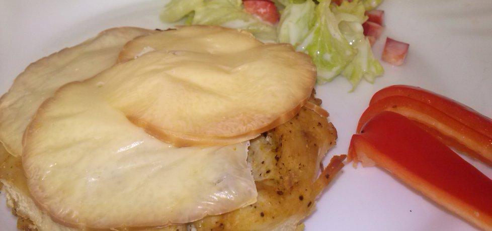 Pierś z kurczaka z wędzonym serem (autor: czarnula87 ...