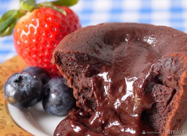 Lava cake  czekoladowy fondant