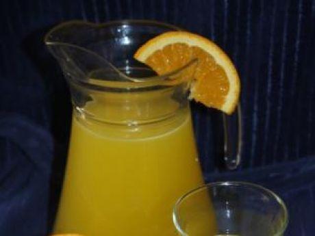 Przepis  domowy sok pomarańczowy 2 przepis