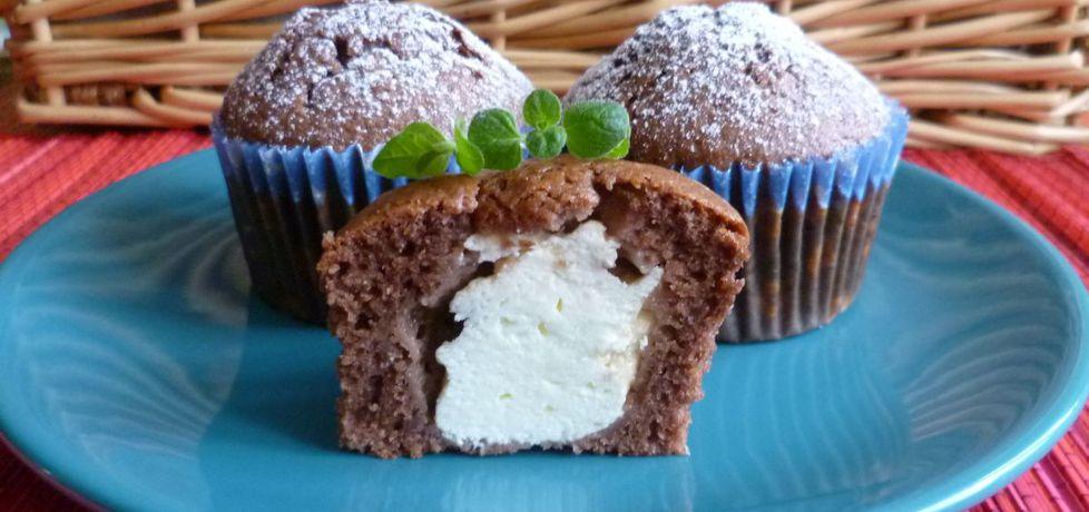 Muffiny czekoladowe z białym serem (autor: krystyna32 ...