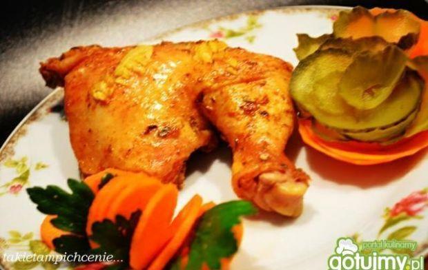 Przepis na pomysły na: kurczak z imbirem i czosnkiem