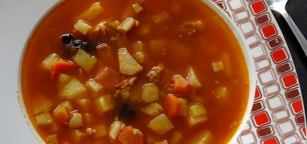 Zupa ogonowa z warzywami (autor: mysiunia)