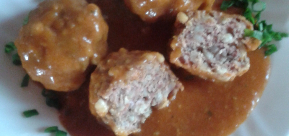 Kotlety mielone z kaszą w sosie pomidorowym (autor: czyki ...