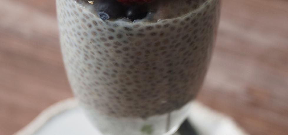 Pudding z chia z białą czekoladą (autor: klorus)