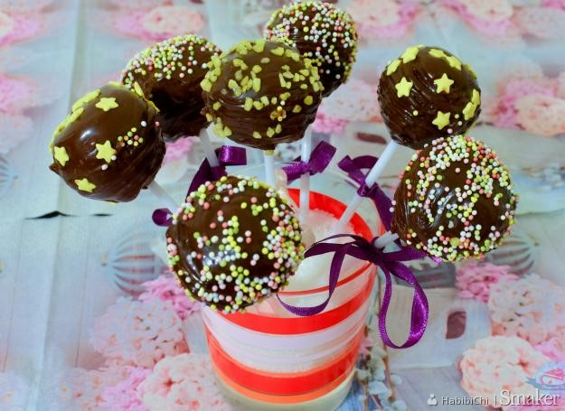 Lizaki czekoladowe  pop cakes