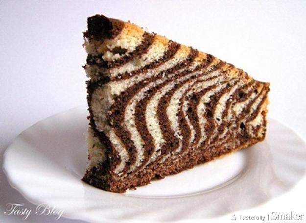 Ciasto Zebra Przepis Ze Smaker Pl
