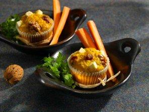 Wytrawne muffiny marchewkowe  prosty przepis i składniki