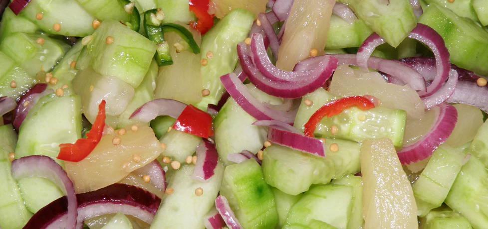 Ogórki ananasowe z chili (autor: habibi)
