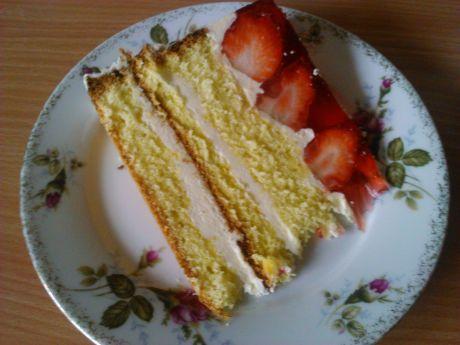 Przepis  tort truskawkowa nuta przepis