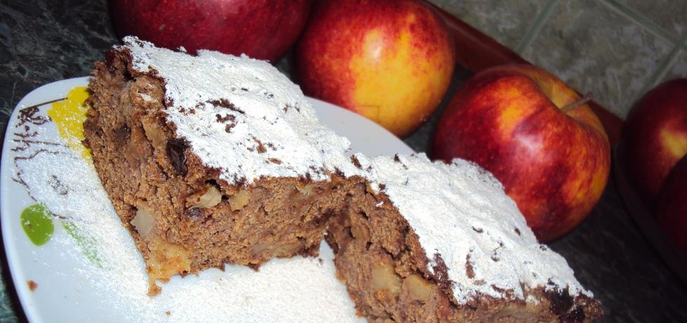 Pełnoziarniste ciasto z jabłkami (autor: mama