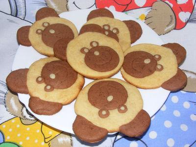 Kurche ciasteczka miodowe misie