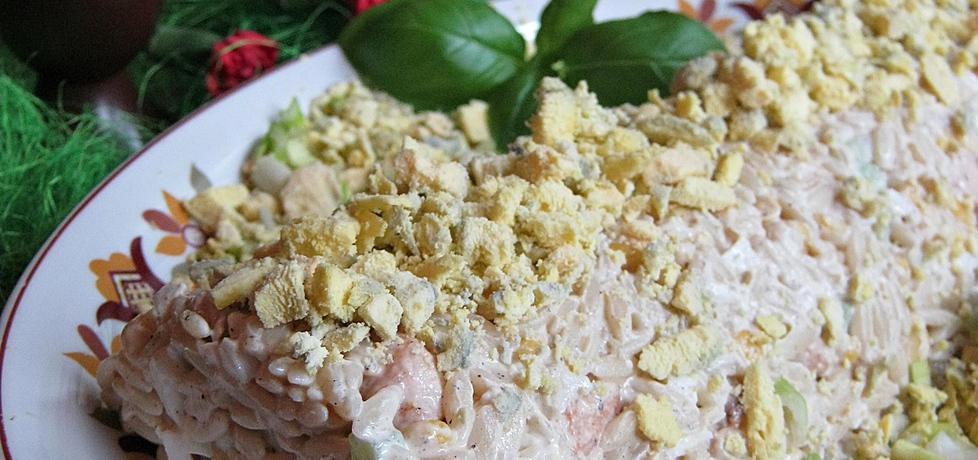 Sałatka jajeczna z kurczakiem (autor: violetowekucharzenie ...
