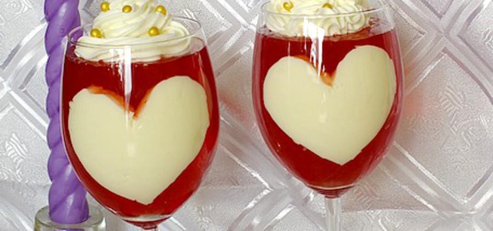 Walentynkowy deser kocham cię! (autor: mysiunia ...
