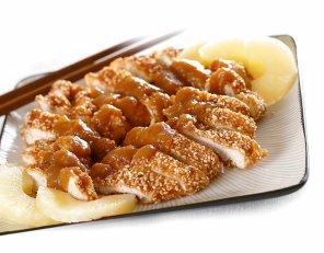 Kurczak z ananasem  prosty przepis i składniki