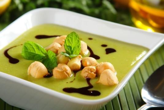 Zupa krem z zielonego groszku  video