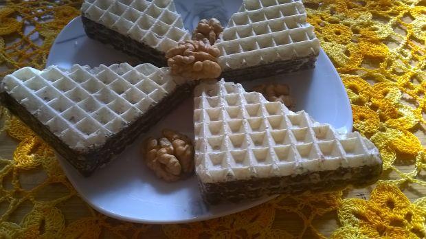 Przepis  wafle z czekoladą przepis