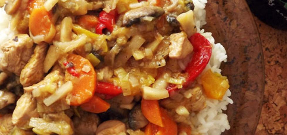 Filet z indyka w warzywach (autor: anula)
