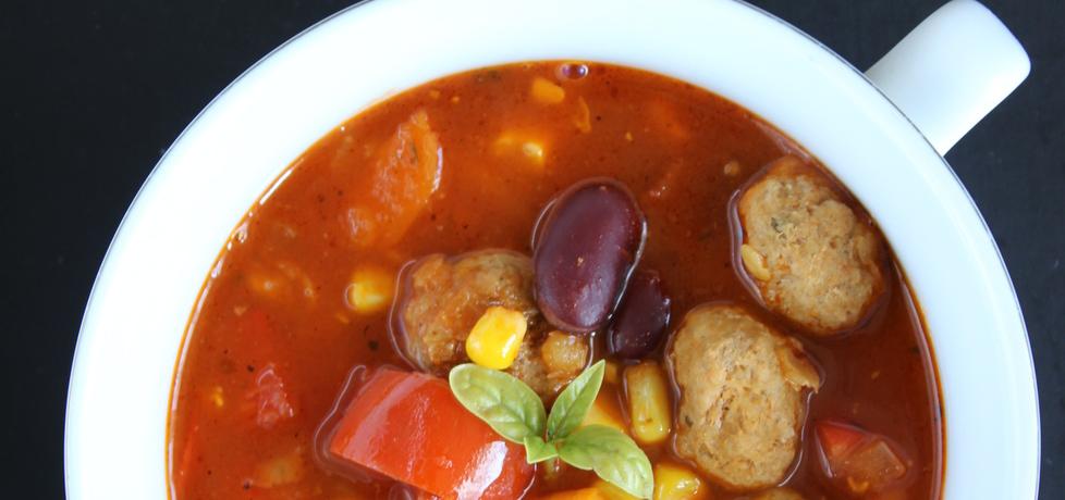 Pikantna zupa z soczewicą i pulpecikami (autor: wedith1 ...