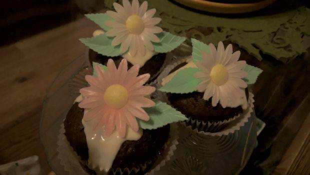Przepis  muffiny czekoladowe z białą czekoladą przepis