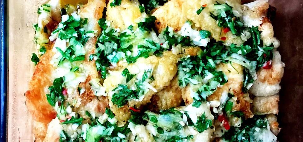 Ryba marynowana w oliwie z ziołami (autor: brioszka ...