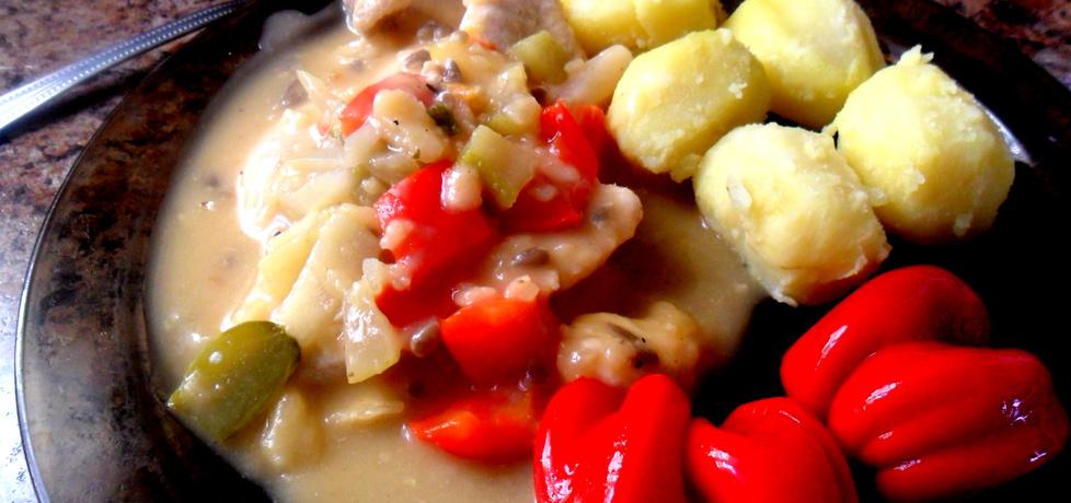 Plastry kurczaka w delikatnym sosie (autor: maridka19 ...