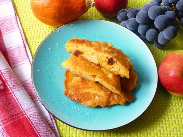 Przepis  placki dyniowe z jabłkami przepis