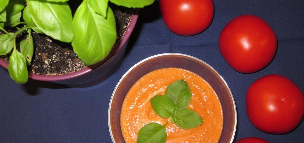 Sos pomidorowy ze świeżą bazylią (autor: malinka ...