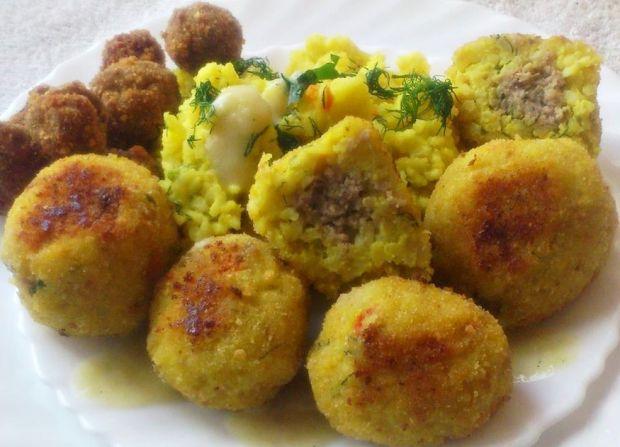 Przepis  kulki ryżowe z mięsem mielonym wg di przepis