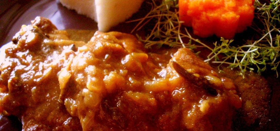 Karkówka duszona w sosie śliwkowym (autor: smacznapyza ...