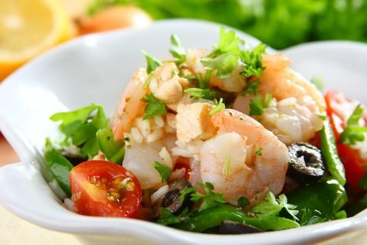 Hiszpańska sałatka ryżowa