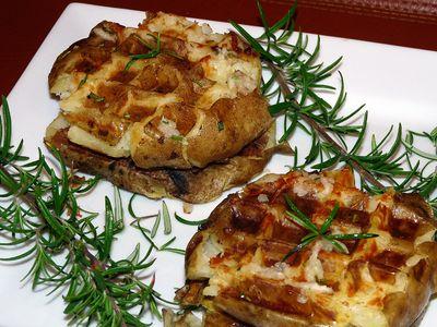 Gofry z ziemniaków