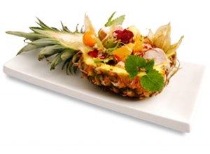 Sałatka hawajska  prosty przepis i składniki