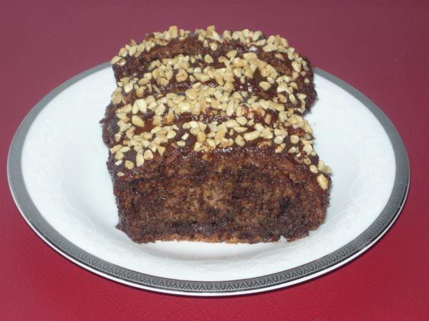 Przepis  ciasto czekoladowo- orzechowe przepis