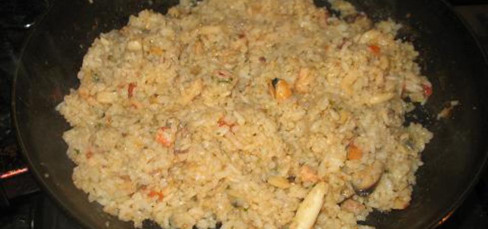 Owoce morza z ryżem (autor: berys18)