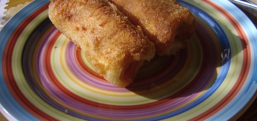 Krokiety z chleba tostowego (autor: leonkot)